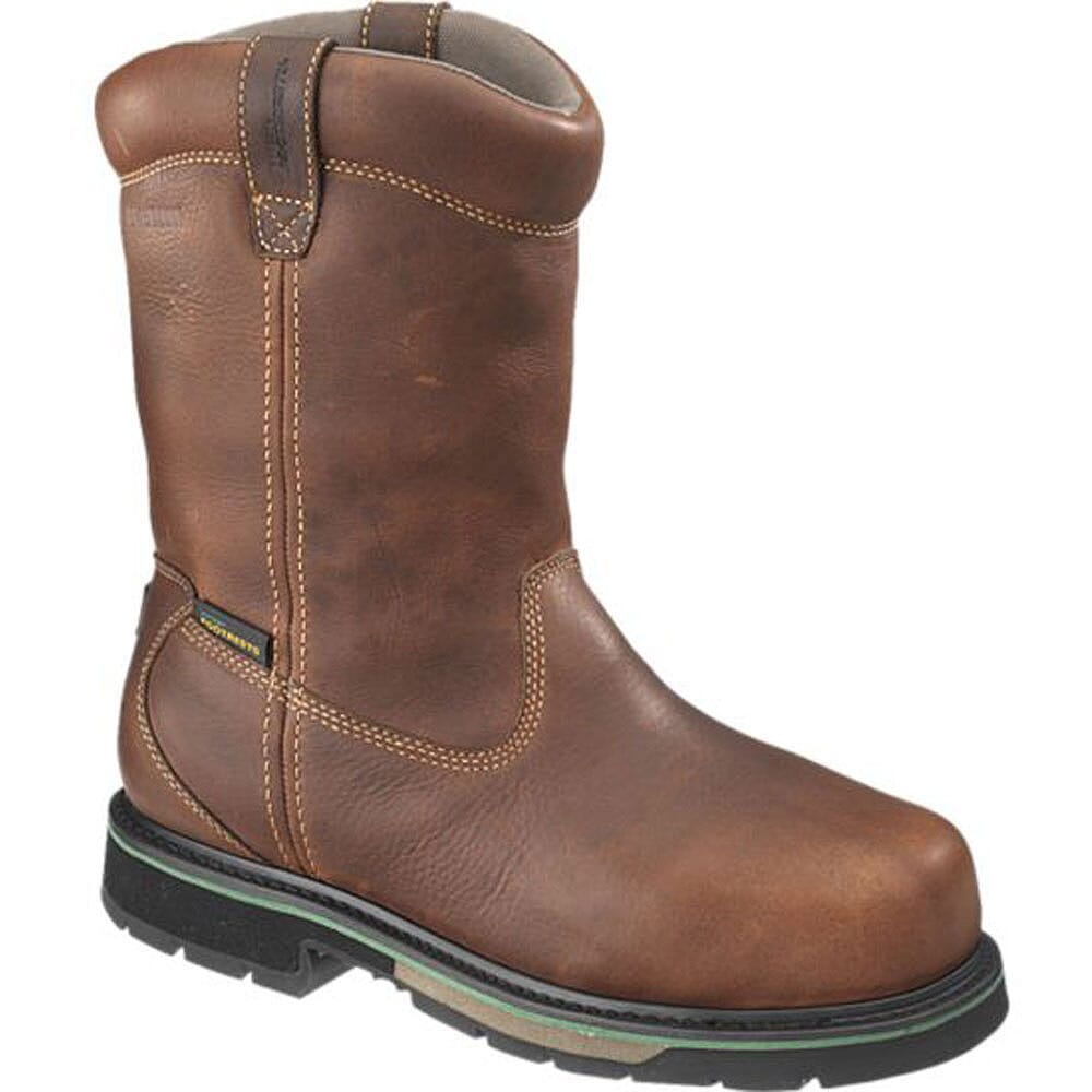 Image for Footrests by Hytest Men's Contour Safety Boots - Brown from bootbay