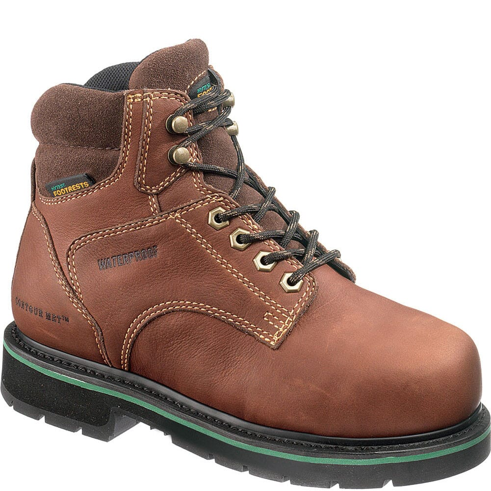 Image for Footrests Women's Met Guard Safety Boots - Brown from bootbay