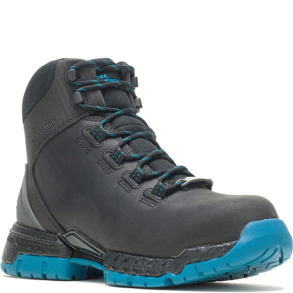 Image for Hytest Women's Footrests 2.0 Maya Safety Boots - Black from bootbay