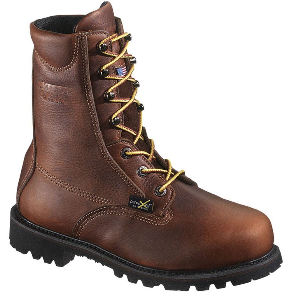 Image for HYTEST Men's Electrical Hazard Safety Boots - Red Brown from bootbay