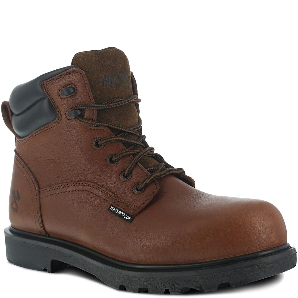 Image for Iron Age Men's EH WP CT Safety Boots - Brown from bootbay
