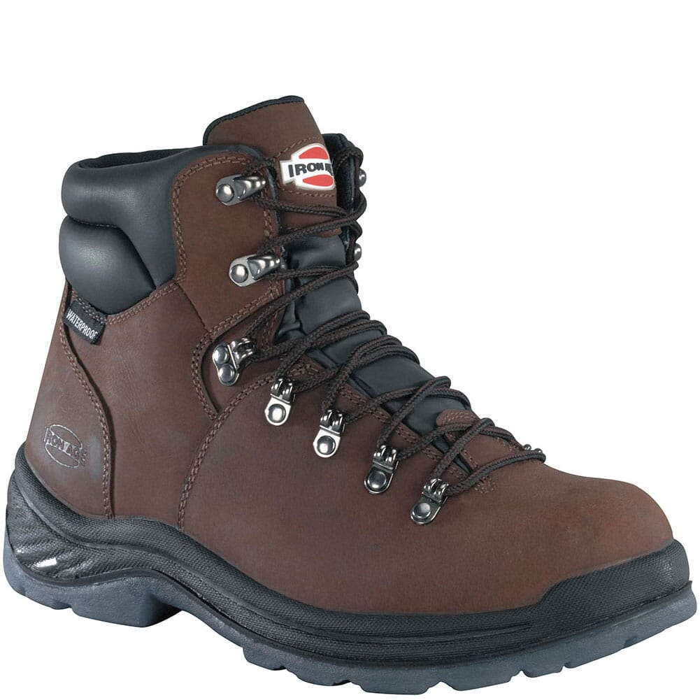 Image for Iron Age Men's Tiller CT Safety Boots - Brown from bootbay