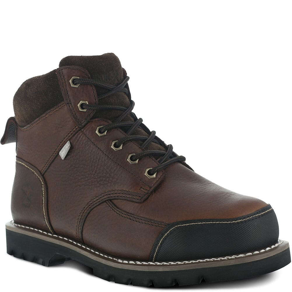 Image for Iron Age Men's Met Guard Safety Boots - Brown from bootbay