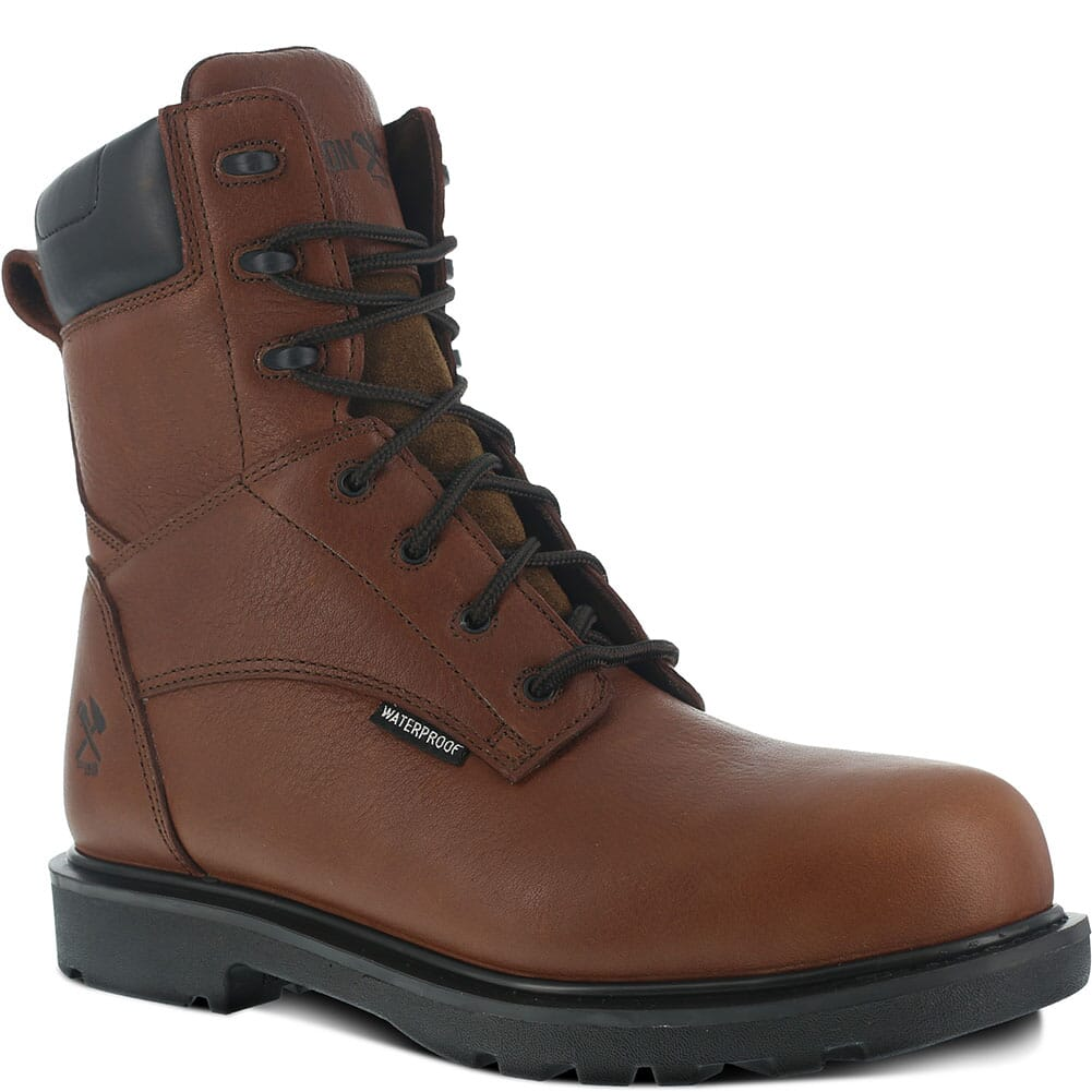 Image for Iron Age Men's Hauler Safety Boots - Brown from bootbay