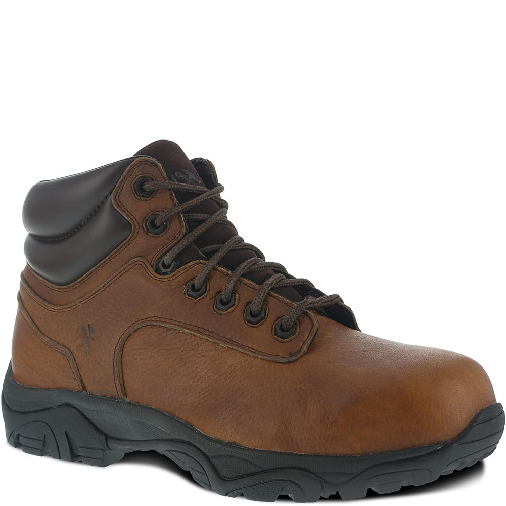 Image for Iron Age Men's EH CT Safety Boots - Brown from bootbay