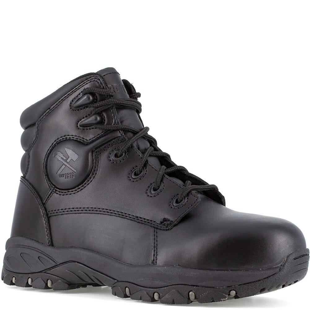 Image for Iron Age Men's Ground Finish Safety Boots - Black from bootbay