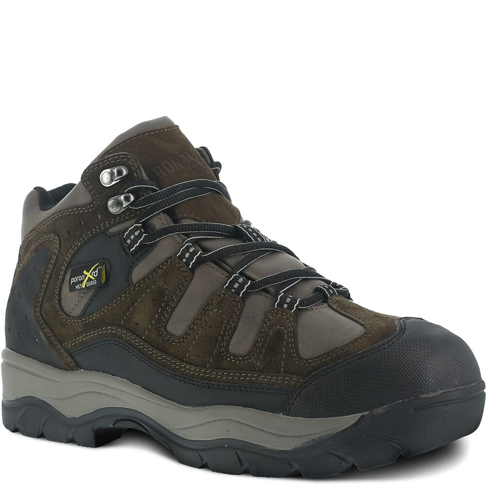 Image for Iron Age Men's High Ridge Safety Boots - Brown from bootbay