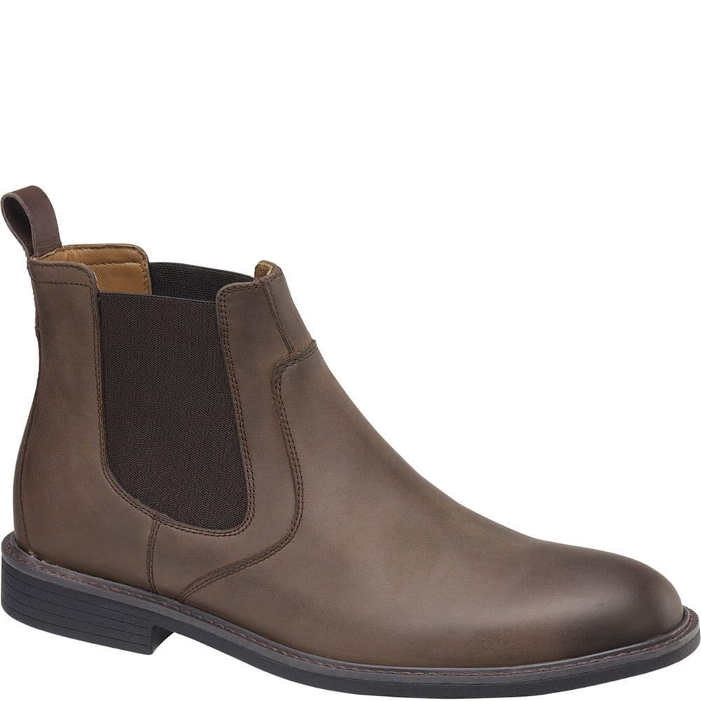 Image for Johnston & Murphy Men's XC4 Hollis Chelsea Boots - Tan from bootbay