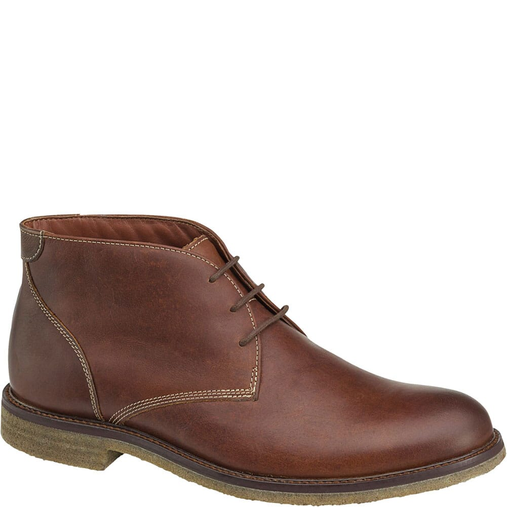 Image for Johnston & Murphy Men's Copeland Chukka Boots - Red Brown from bootbay