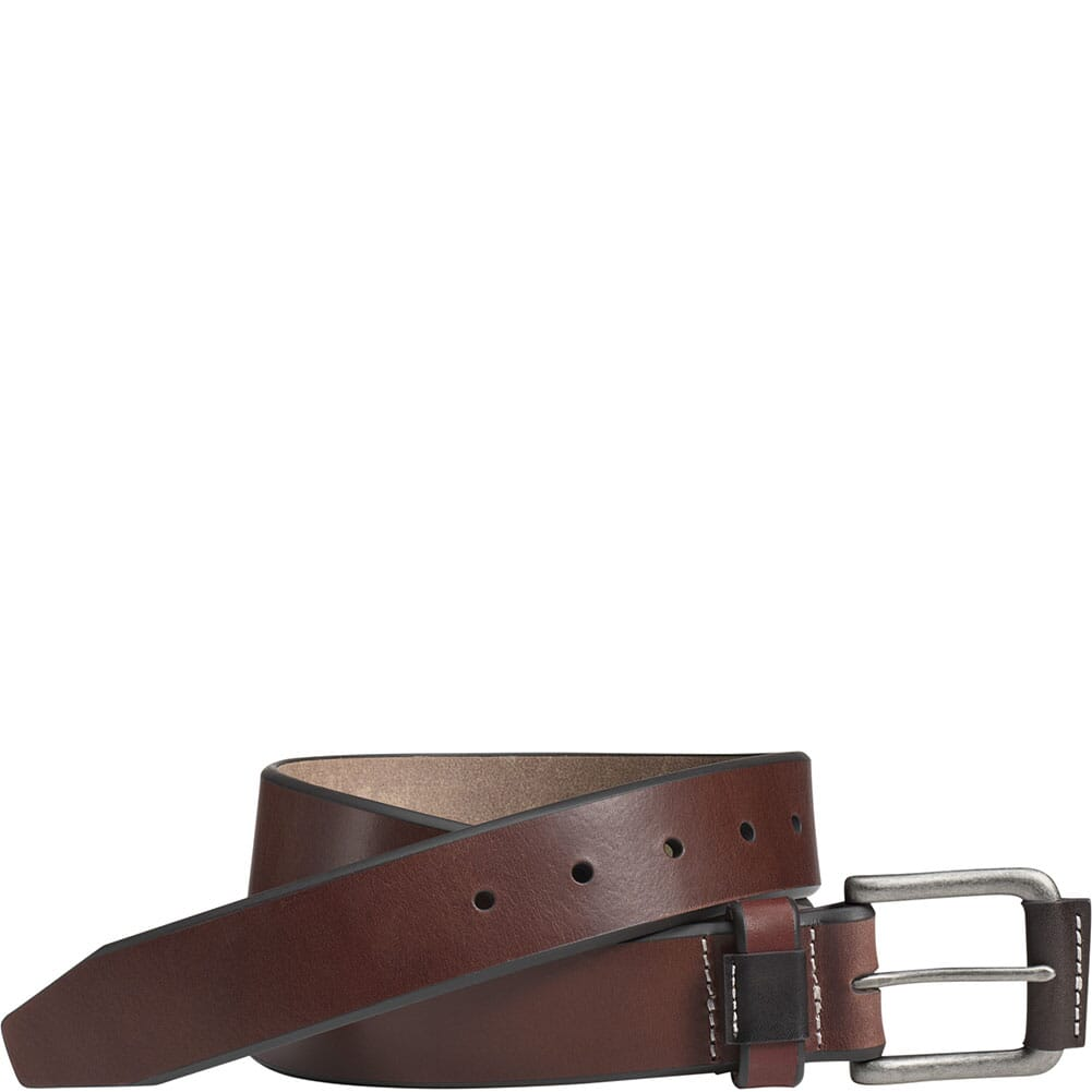 Image for Johnston & Murphy Men's Wrapped Buckle Belt - Brown from bootbay