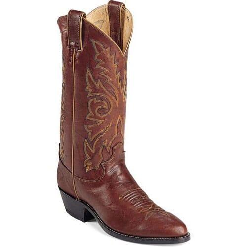 Image for Justin Men's Marbled Deerlite Western Boots - Chestnut from bootbay