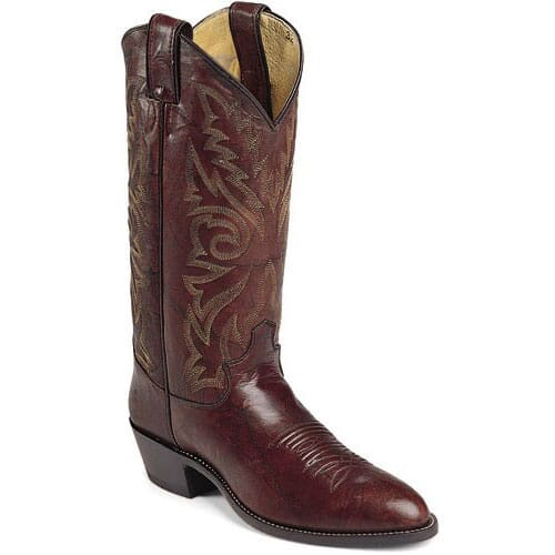 Image for Justin Men's Cowboy Western Boots - Dark Brown from bootbay