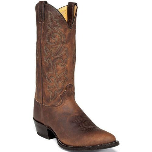 Image for Justin Men's Classic Western Cowboy Boots - Bay Apache from bootbay