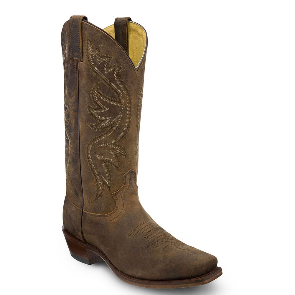 Image for Justin Men's Elon Western Boots - Brown Apache from bootbay