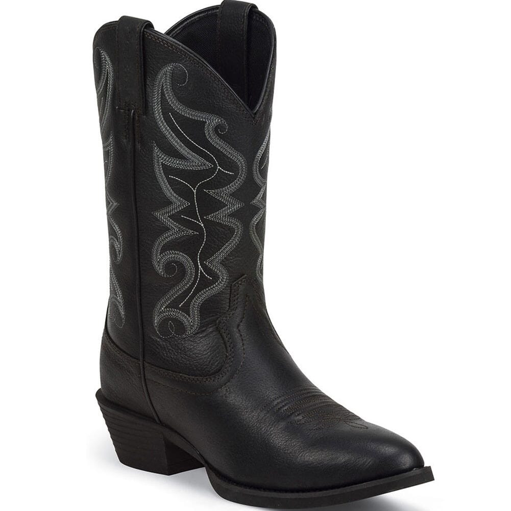 Image for Justin Men's All Star Western Boots - Black from bootbay