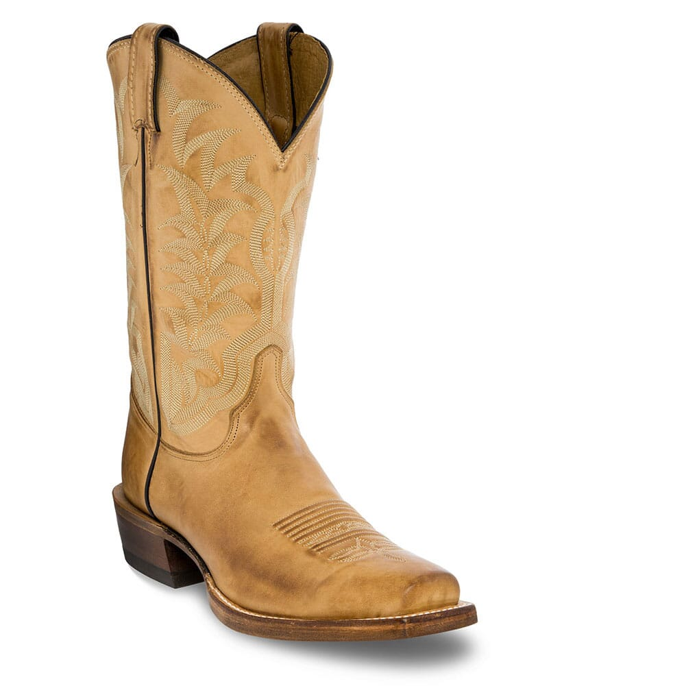 Image for Justin Men's Hank Western Boots - Golden Tan from bootbay