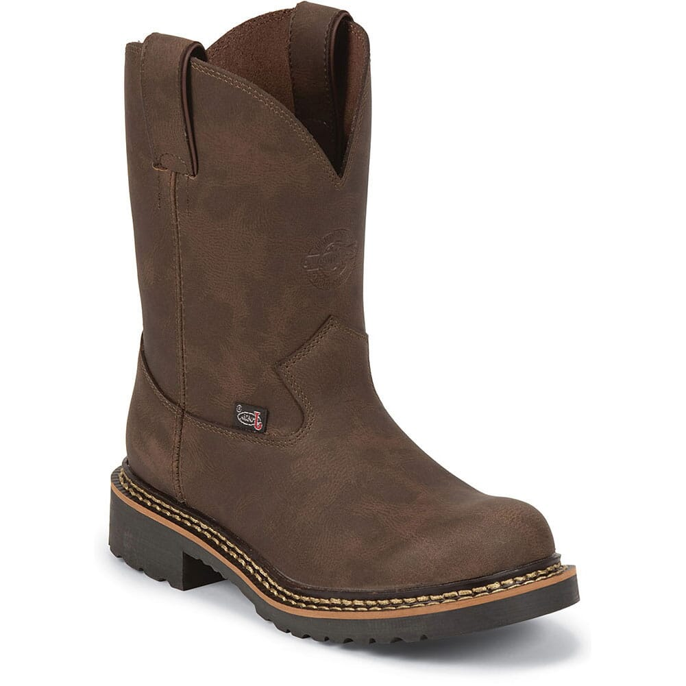 Image for Justin Original Kids Leather Western Boots - Brown from bootbay