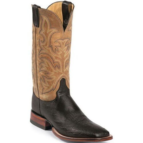 Image for Justin Men's AQHA Remuda Western Boots - Black from bootbay
