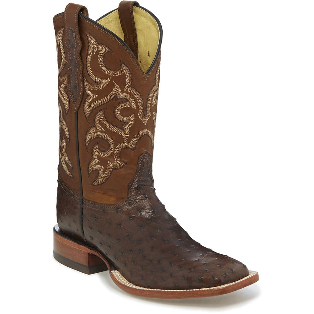 Image for Justin Men's Truman Western Boots - Brown from bootbay