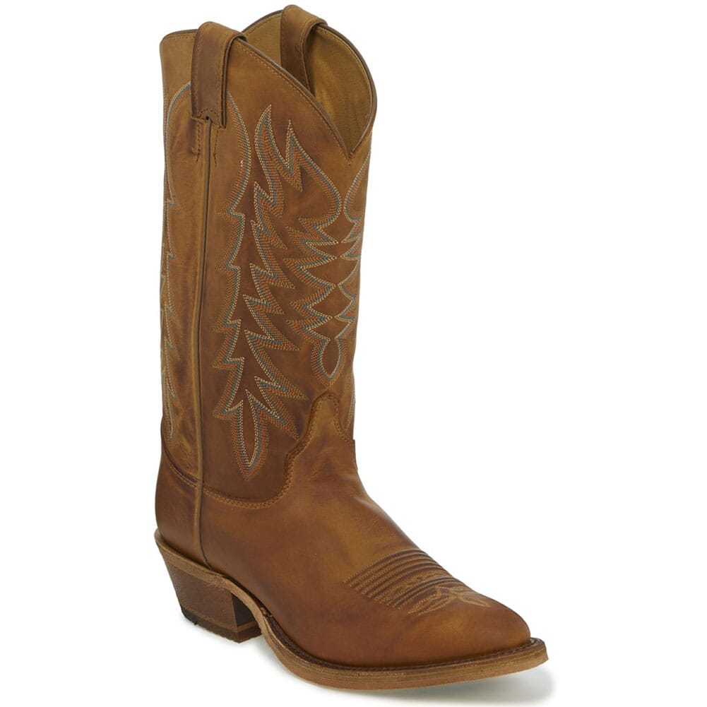 Image for Justin Men's Keaton Western Boots - Cognac/Peanut Brittle from bootbay