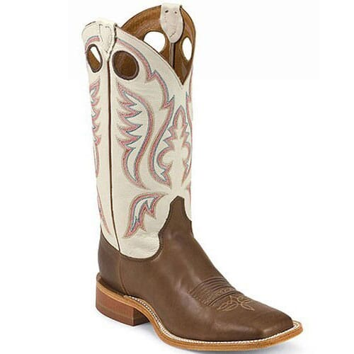 Image for Justin Men's Bent Rail Western Boots - Chocolate from bootbay