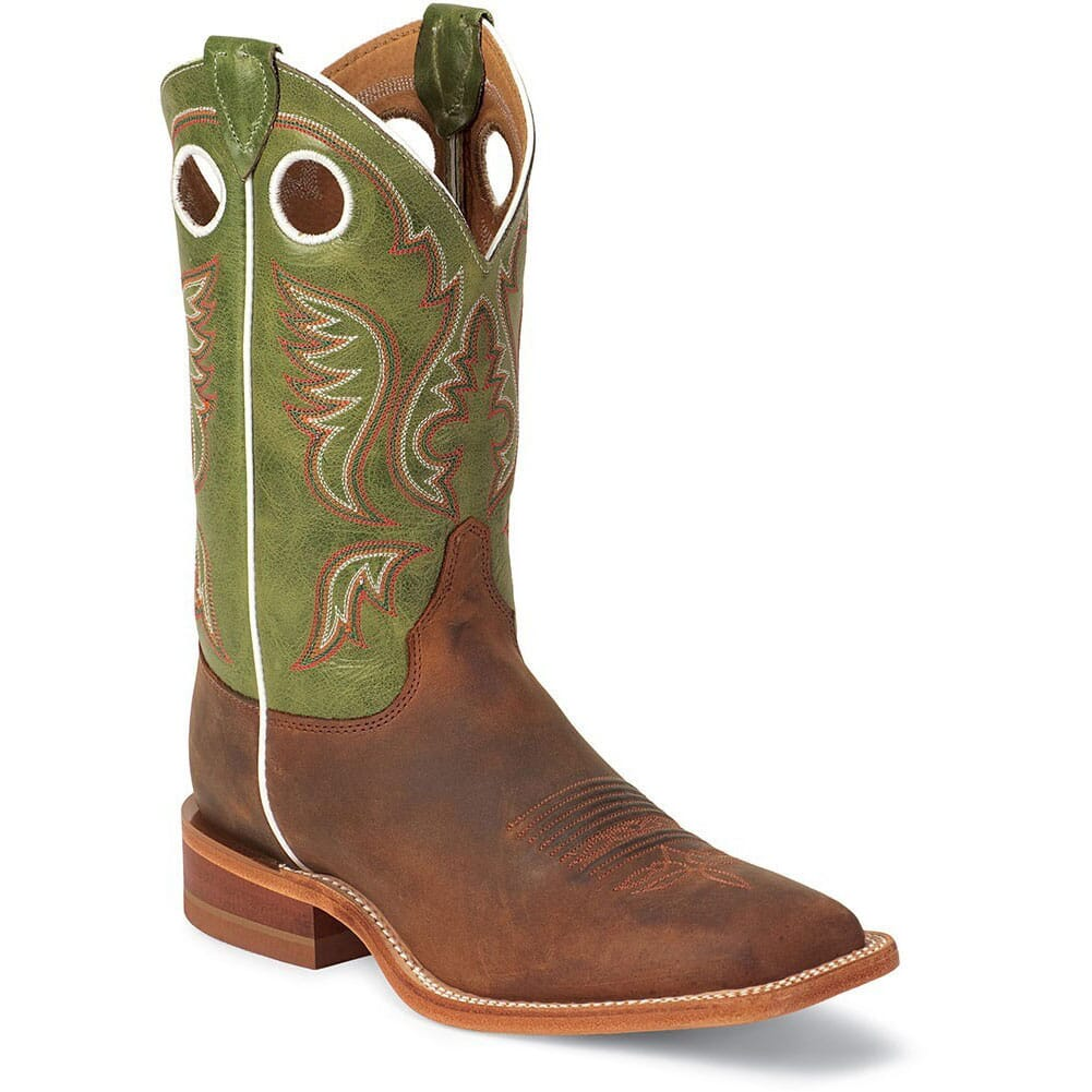 Image for Justin Men's Bent Rail Western Boots - Cognac from bootbay