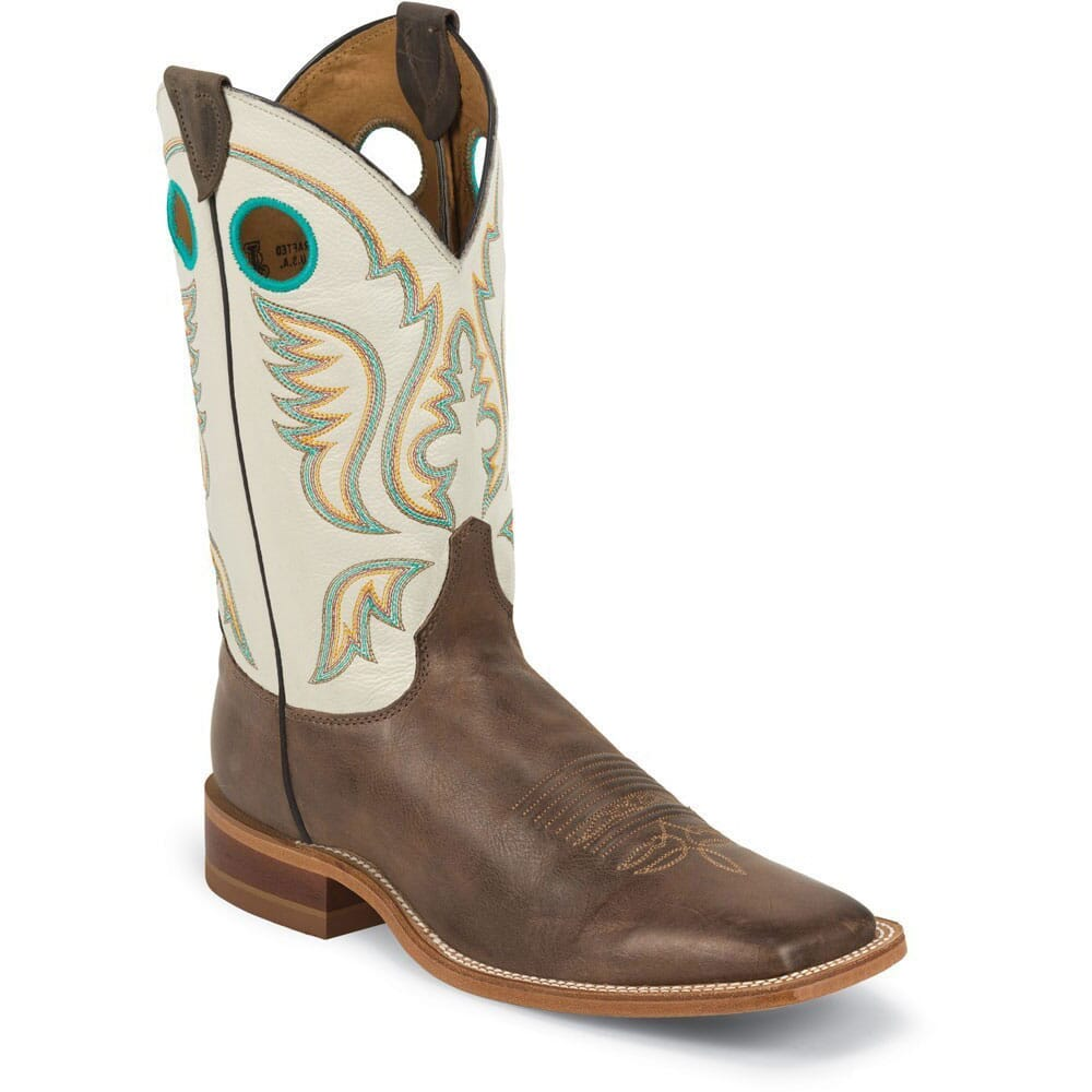 Image for Justin Men's Bent Rail 11IN Western Boots - Chocolate from bootbay