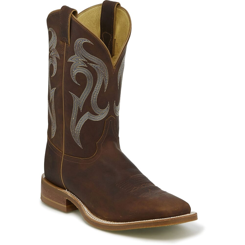 Image for Justin Men's Bender Western Boots - Brown from bootbay