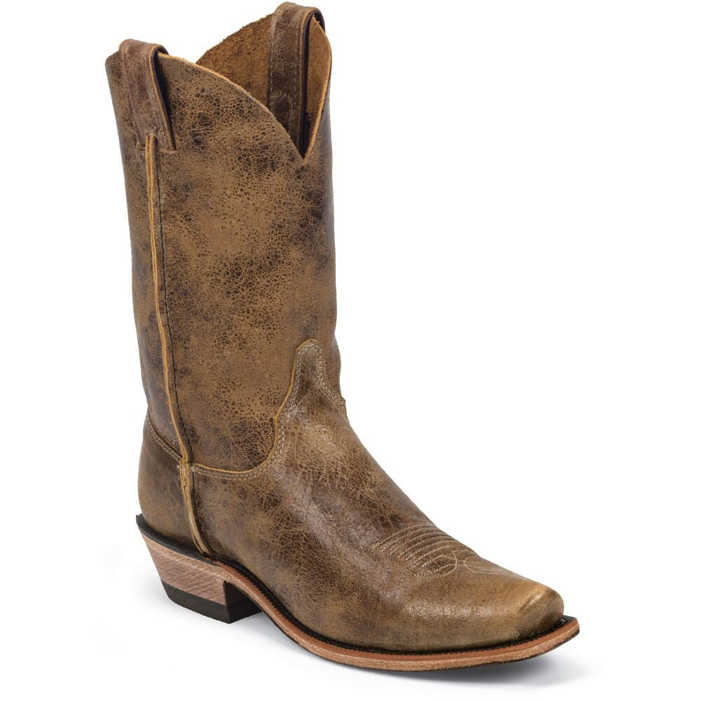 Image for Justin Men's BR Tan Road Western Boots - Tan from bootbay