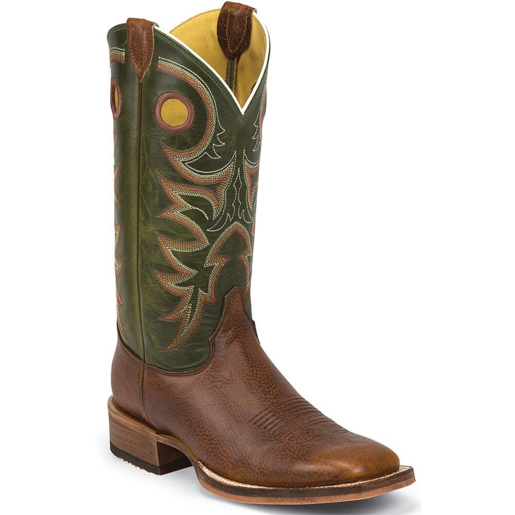 Image for Justin Men's Bent Rail Western Boots - Pampero/Copper from bootbay