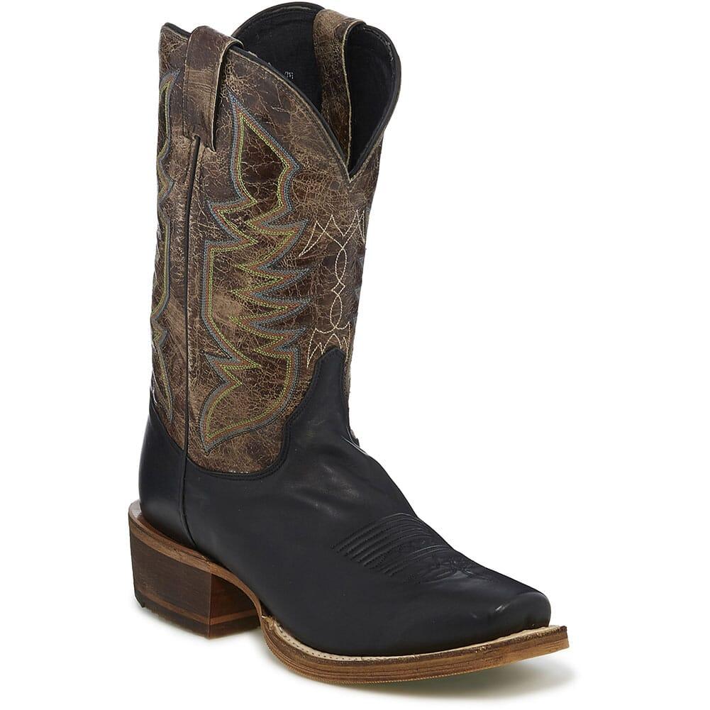 Image for Justin Men's Navigator Western Boots - Testa Testa/Black Jersey from bootbay