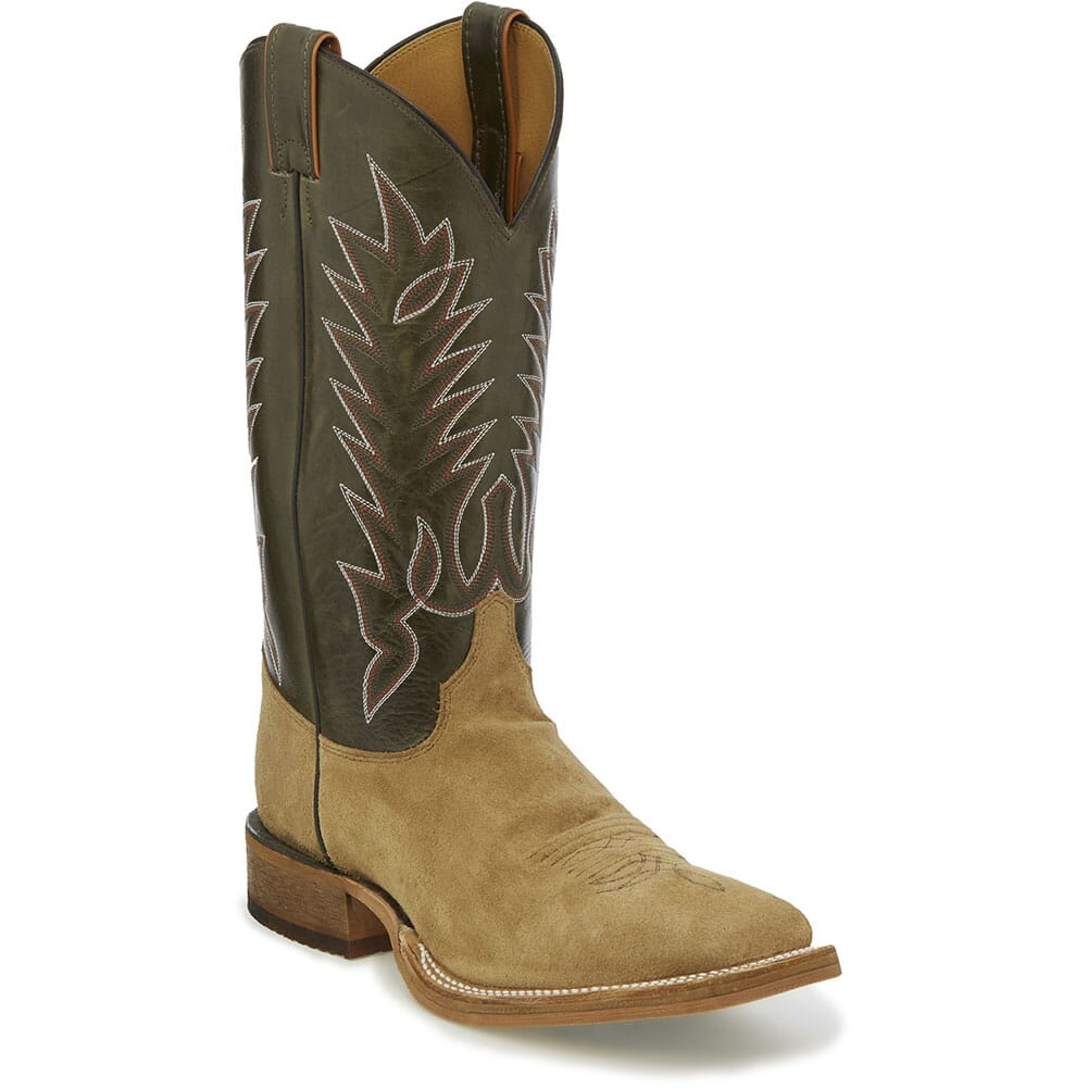 Image for Justin Men's Kerrville Western Boots - Capetown Peat/Khaki from bootbay