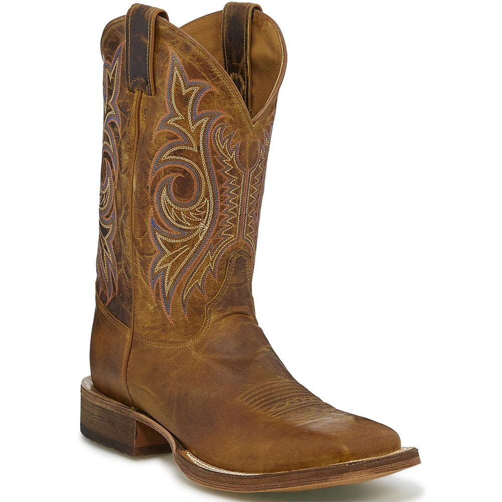 Image for Justin Men's Caddo Western Boots - Summer Dog from bootbay