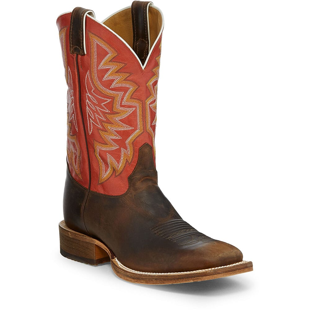 Image for Justin Men's Caddo Western Boots - Brazil/Stone Age Tan from bootbay