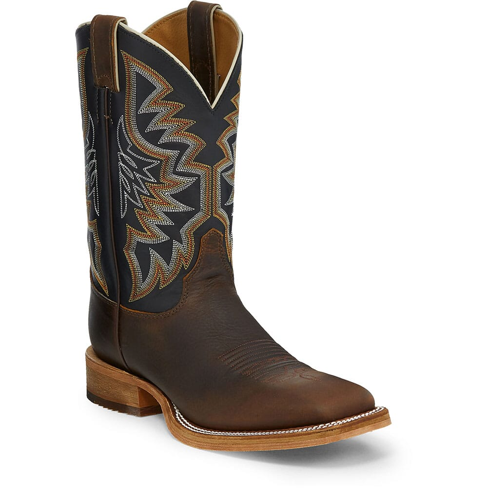 Image for Justin Men's Caddo Western Boots - Superior Black from bootbay