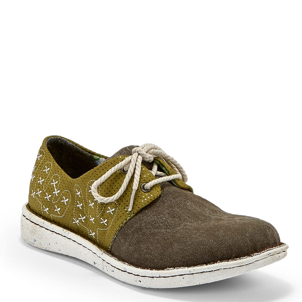 Image for Justin Women's Cac-Tie Lace-Up in Casual Shoes - Chocolate from bootbay
