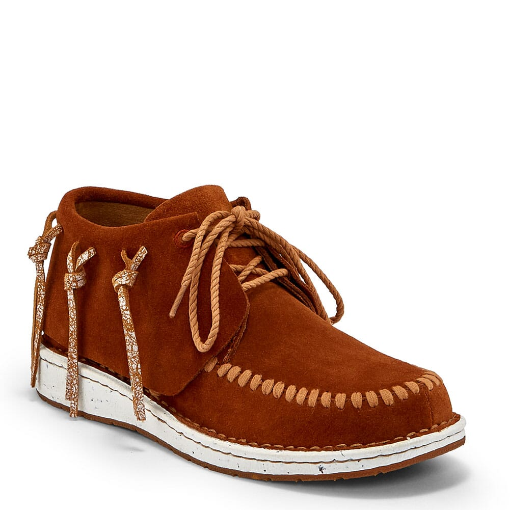 Image for Justin Women's Teepee Casual Shoes - Penny Brown from bootbay