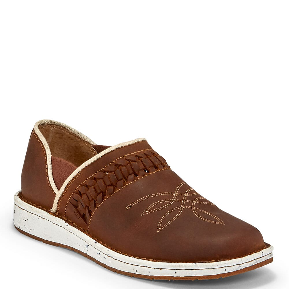 Image for Justin Women's Poly Casual Shoes - Walnut from bootbay