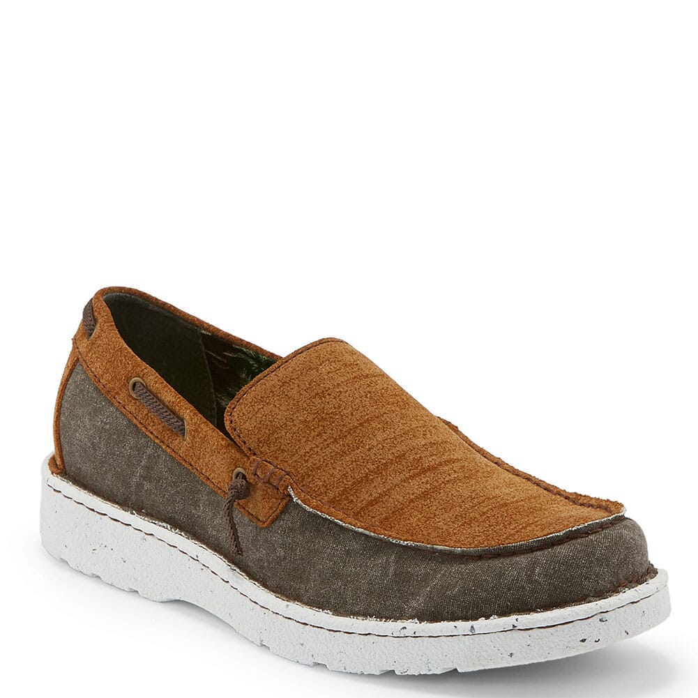 Image for Justin Men's Waker Casual Shoes - Ash from bootbay