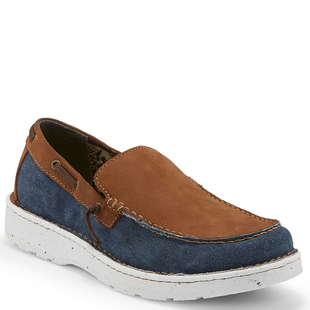 Image for Justin Men's Waker Casual Shoes - Navy from bootbay