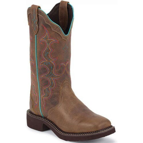 Image for Women's Gypsy Western Justin Boots - Tan Jaguar from elliottsboots