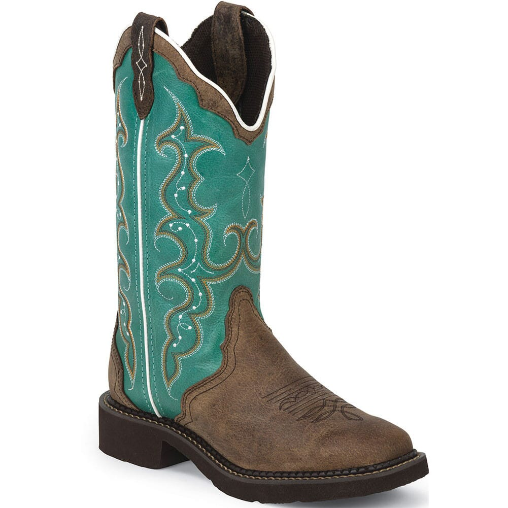 Image for Justin Women's Gypsy Western Boots - Brown from elliottsboots