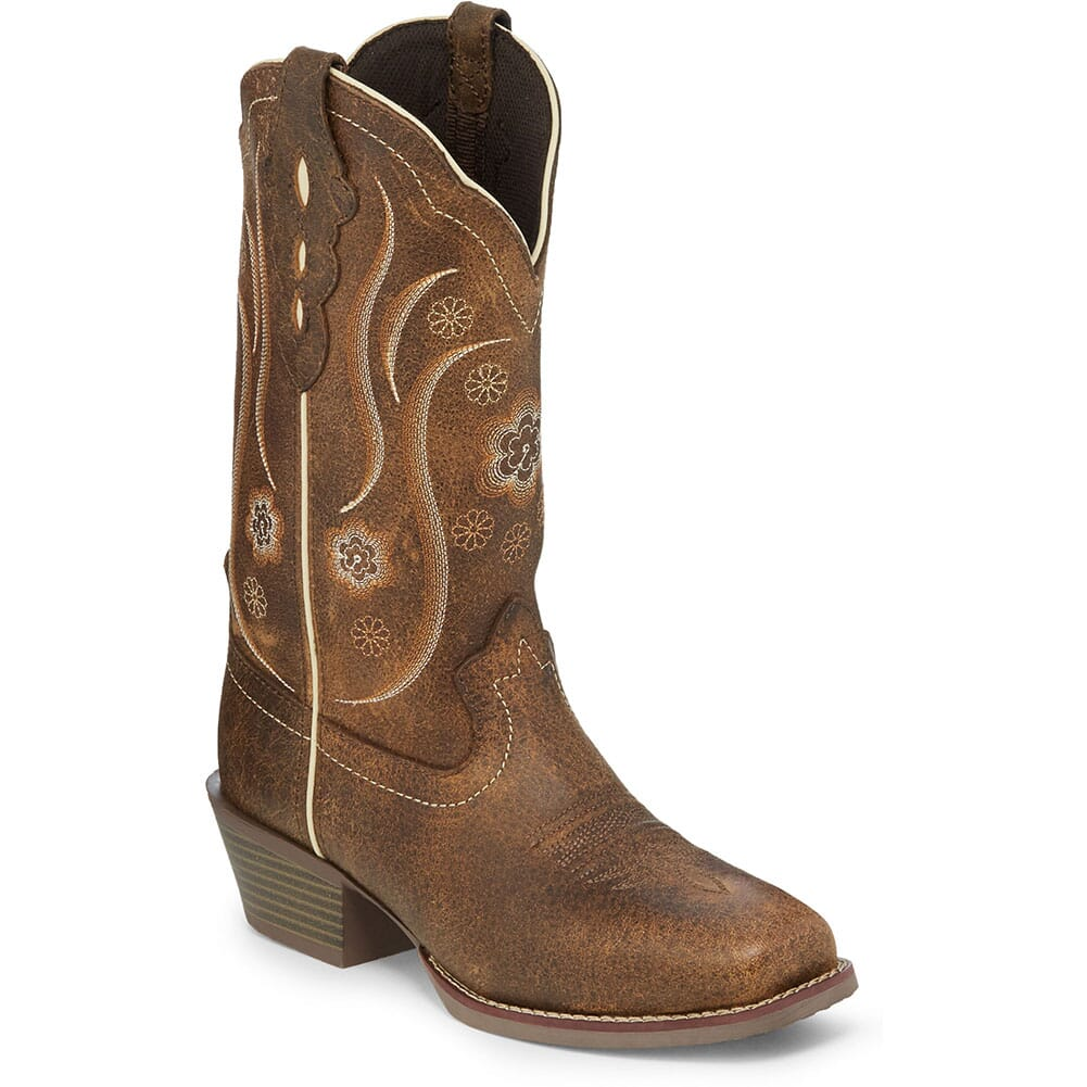 Image for Justin Women's Jessa Western Boots - Brown from bootbay