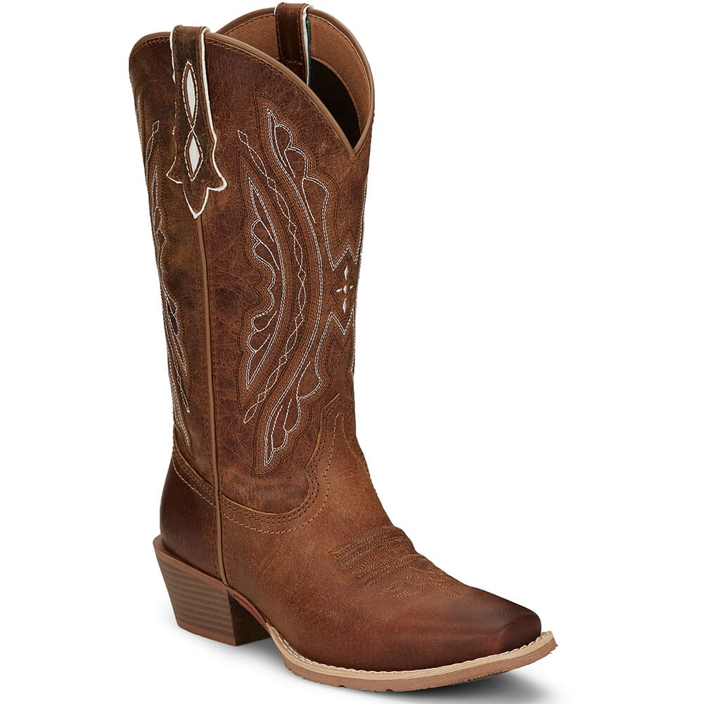 Image for Justin Women's Rein Western Boots - Waxy Tan from bootbay