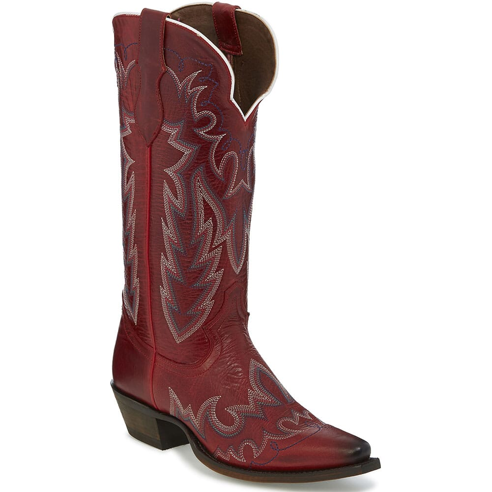 Image for Justin Women's Elina Western Boots - Redstone from elliottsboots