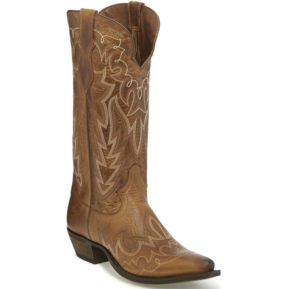 Image for Justin Women's Elina Western Boots - Oak Barrel from elliottsboots