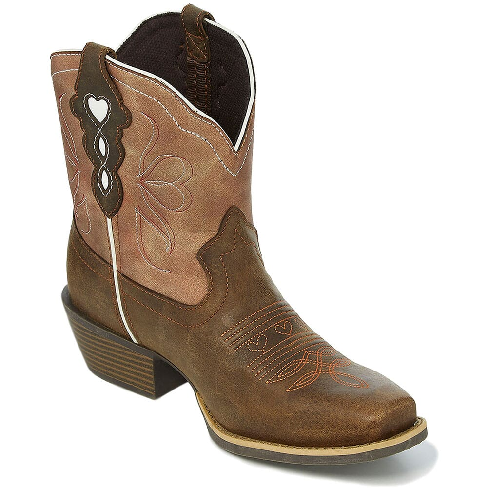 Image for Justin Women's Chellie Western Boots - Chocolate from elliottsboots
