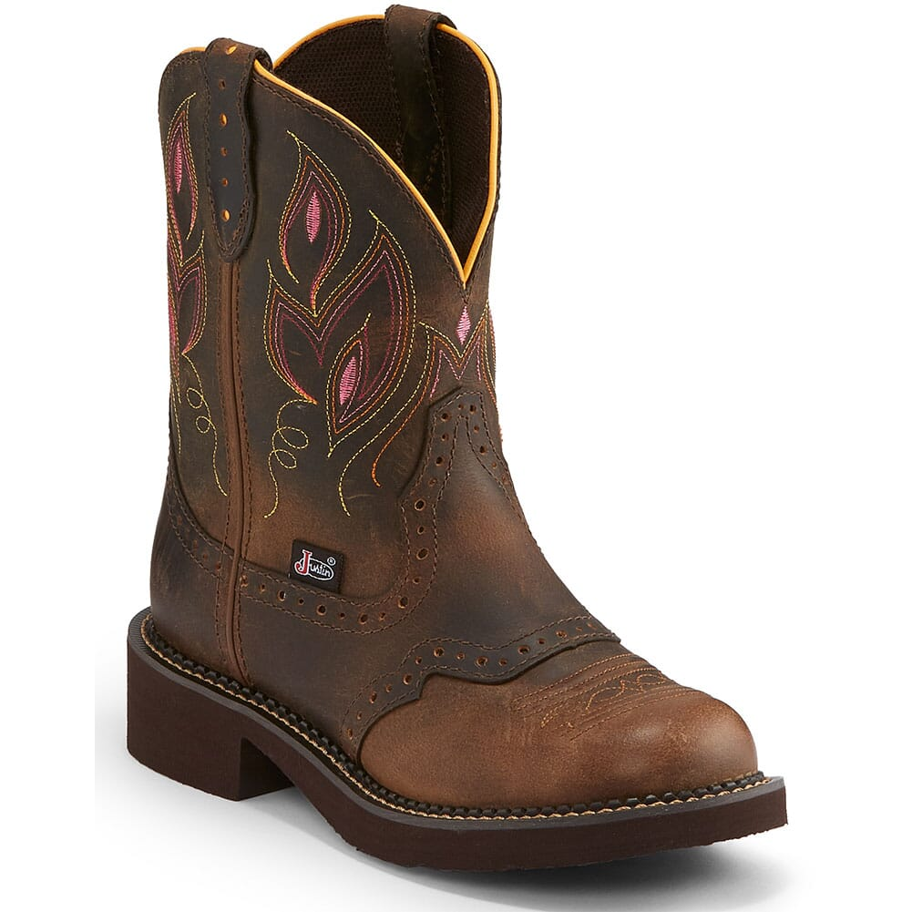 Image for Justin Women's Gemma Western Boots - Shetland from elliottsboots