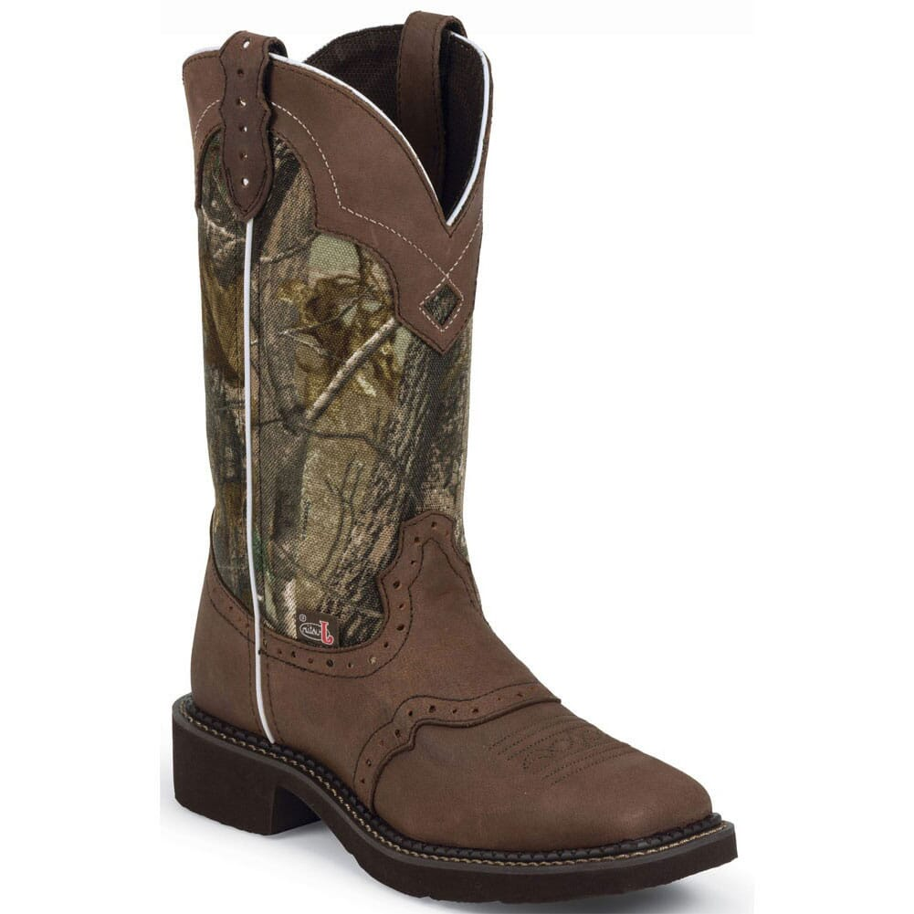 Image for Justin Women's Gypsy Western Boots - Aged Bark from elliottsboots