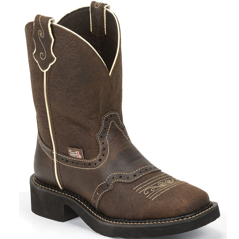 Image for Justin Women's Gypsy 8IN Western Boots - Brown from bootbay